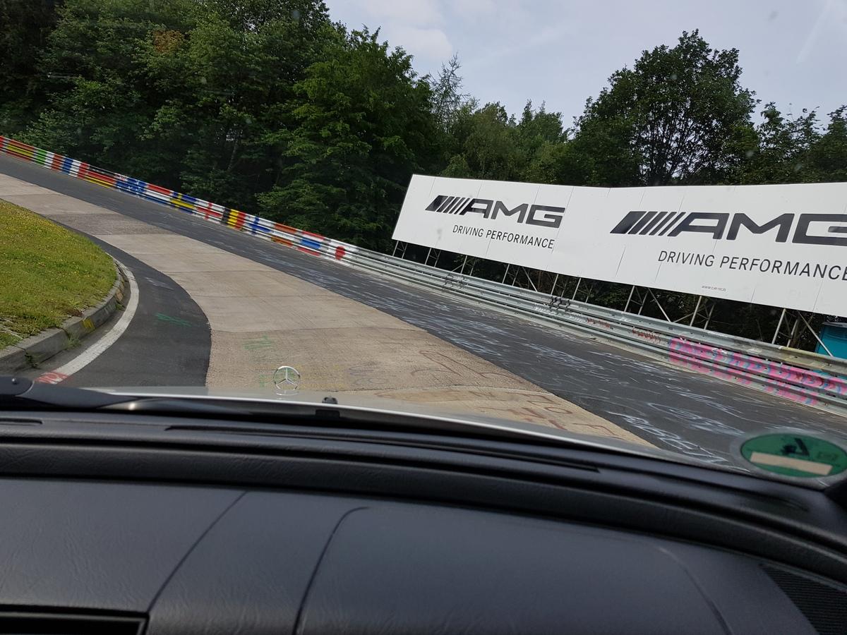 Mit dem optimierten CDI auf dem Nürburgring