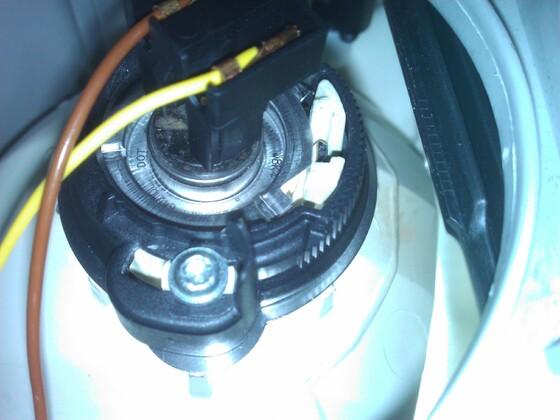 Lampenhalterung W203
