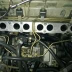 Abdichtung der Druckhalter an der Einspritzpumpe erneuern