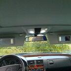 W210 Sonnenblenden endlich installiert!