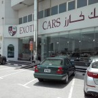Exotic Cars show room
